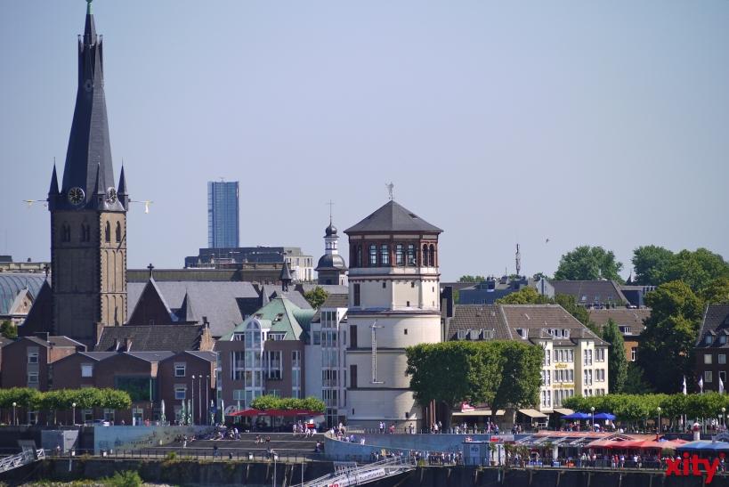Düsseldorf auf den neuen Mitgehtouren der DMT von besonderen Seiten entdecken (Foto: xity)