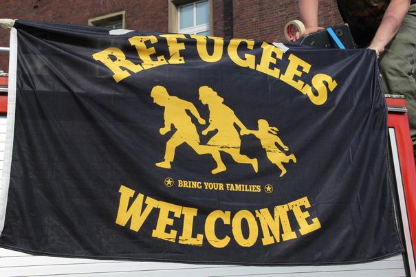 Die Unterbringung von Flüchtlingen stellt die Landeshauptstadt Düsseldorf vor große Herausforderungen (Foto: xity)