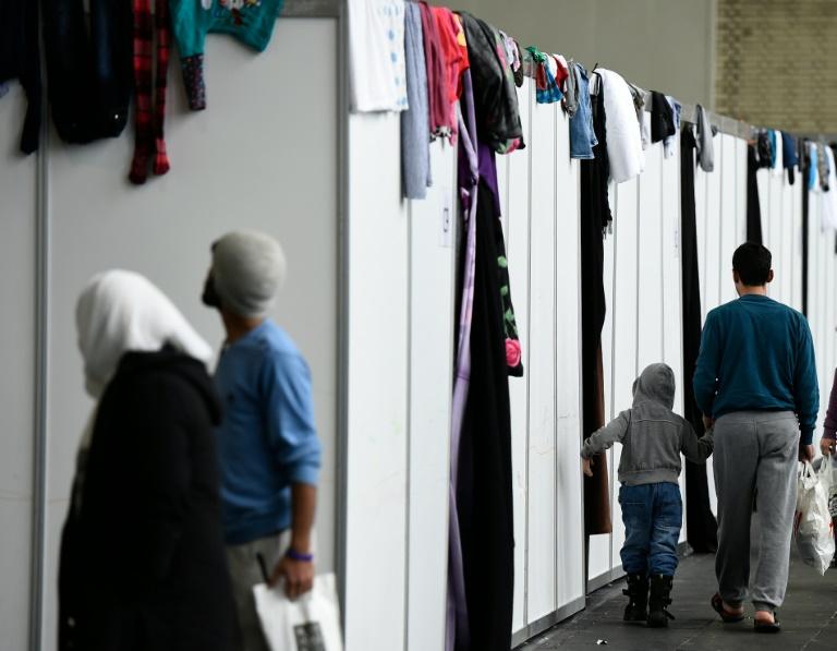 Kinderschutzbund fordert von Gauck Ablehnung des Asylpakets II (© 2016 AFP)