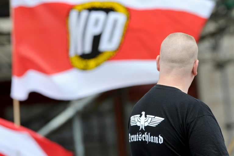 NPD-Verbotsverfahren in Karlsruhe begonnen (© 2016 AFP)