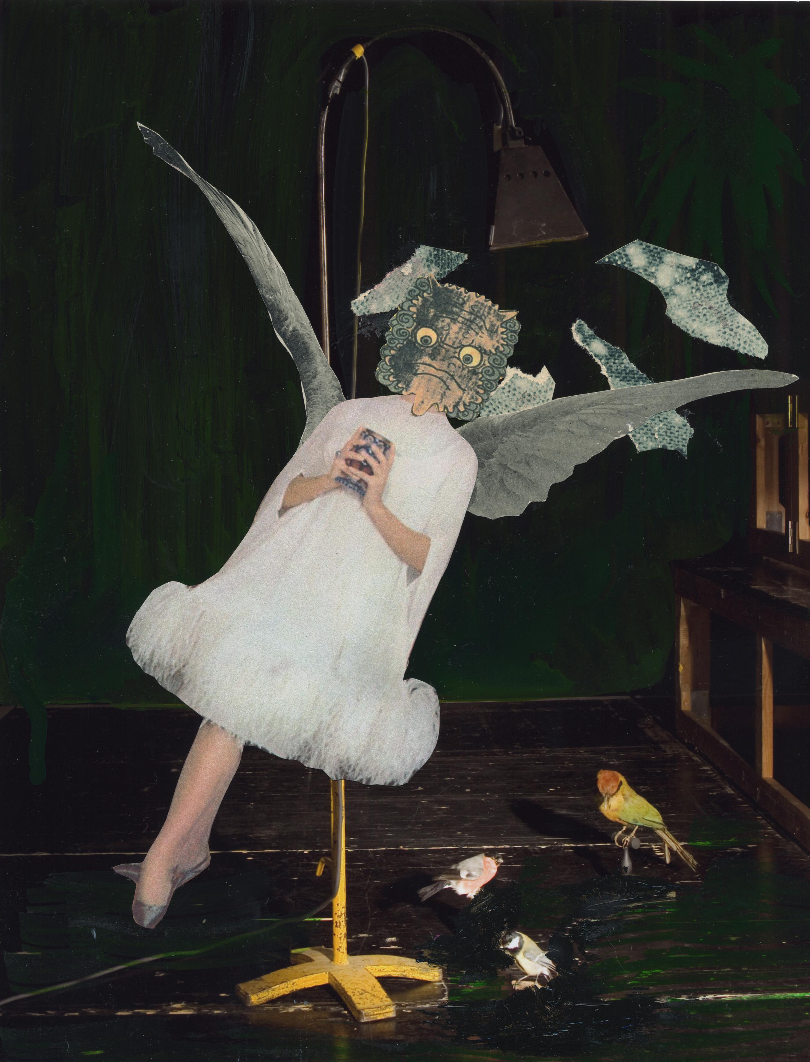 Nadin Maria Ru?fenacht, o.T. Engel, 2012 (Copyright: N. Ru?fenacht)