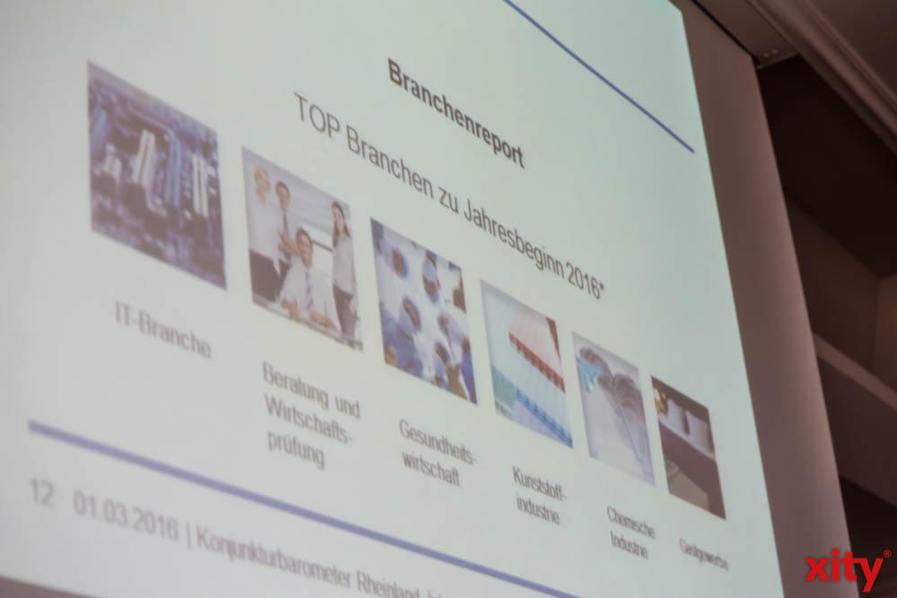 Die IHK Initiative hat aufgelistet, welche Branchen am meisten vom Konjunkturhoch profitieren (Foto: xity)