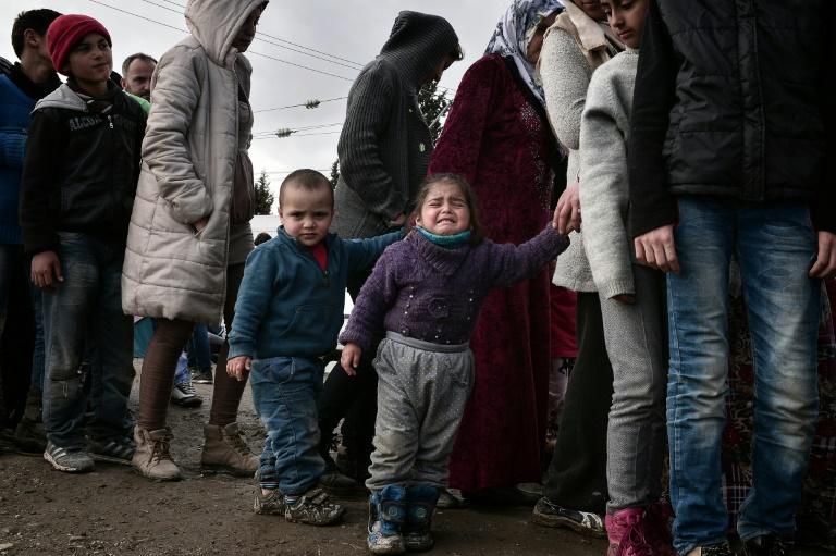 Merkel: Balkan-Blockade schreckt Flüchtlinge nicht ab (© 2016 AFP)