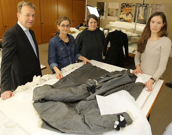 Deutsches Textilmuseum Krefeld bereitet neue Ausstellung vor (Foto: Stadt Krefeld/L. Strü)