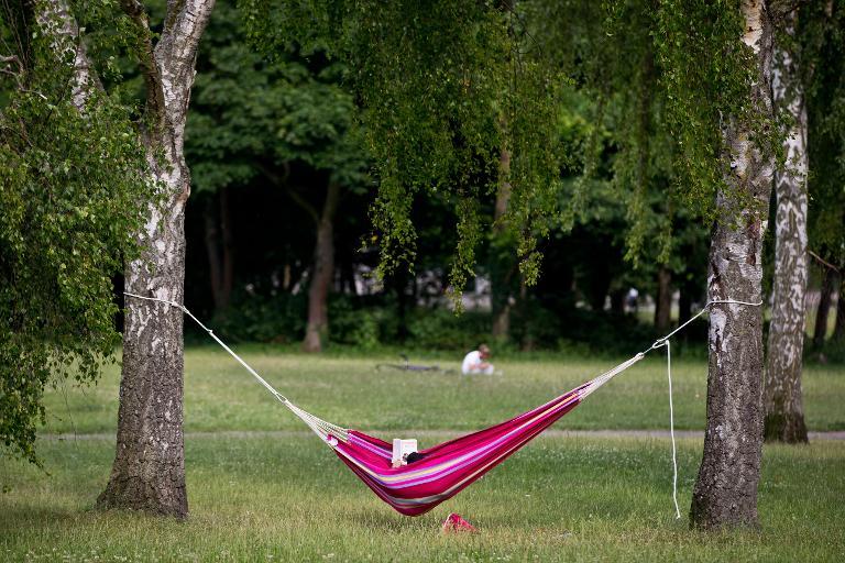 Fast jeder zweite Deutsche will eine Auszeit vom Job nehmen (© 2016 AFP)