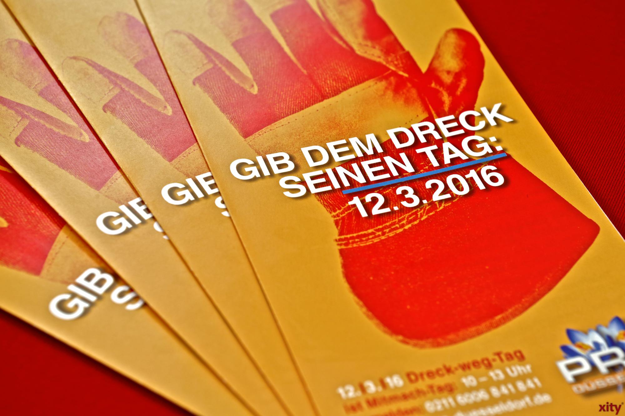 Der Dreck-Weg-Tag findet am 12. März 2016 statt (Foto: xity)