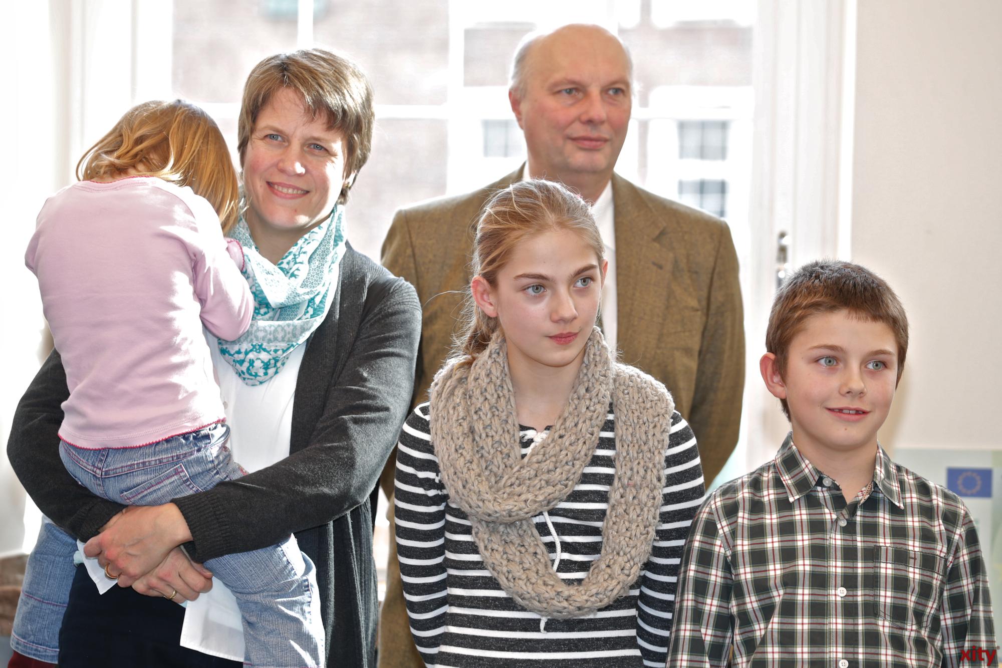 Die Familie von Christoph Schmeisser(Foto: xity)
