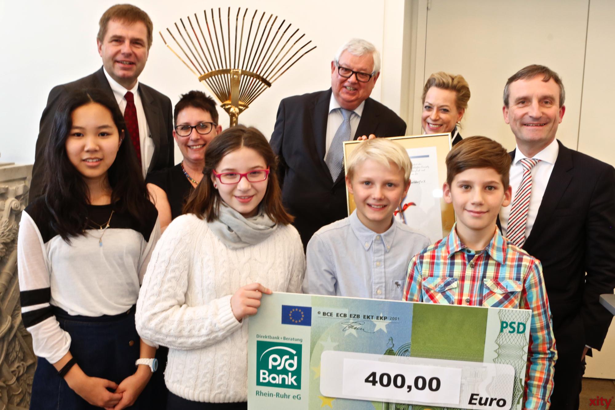 Der Geldpreis kam von der PSD Bank (Foto: xity)