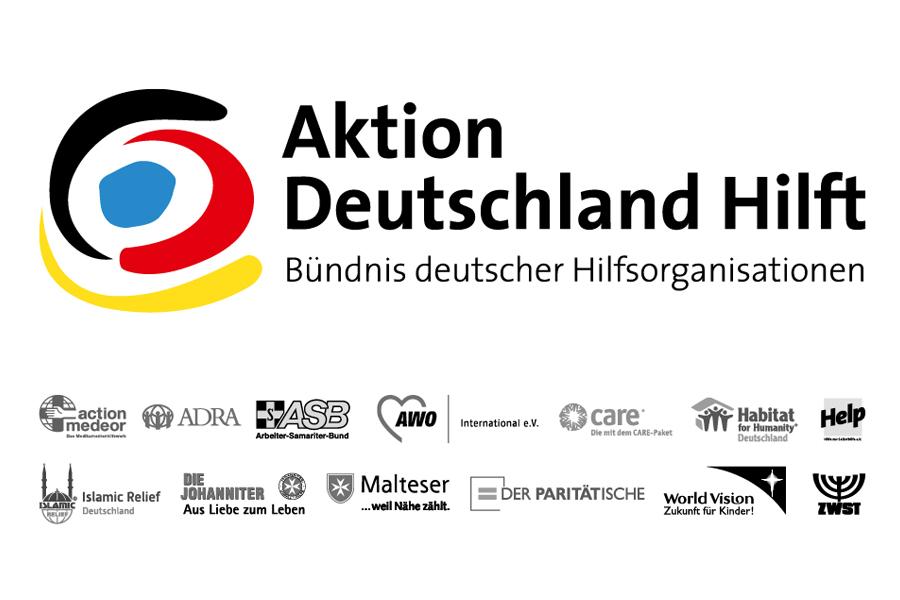"""Die """"Aktion Deutschland Hilft"""" feiert sein 15-jähriges Bestehen (Foto: Aktion Deutschland Hilft)"""