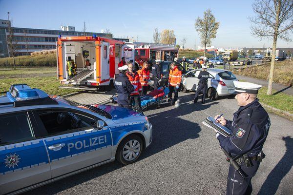 Fußgängerin angefahren (Foto: OTS)