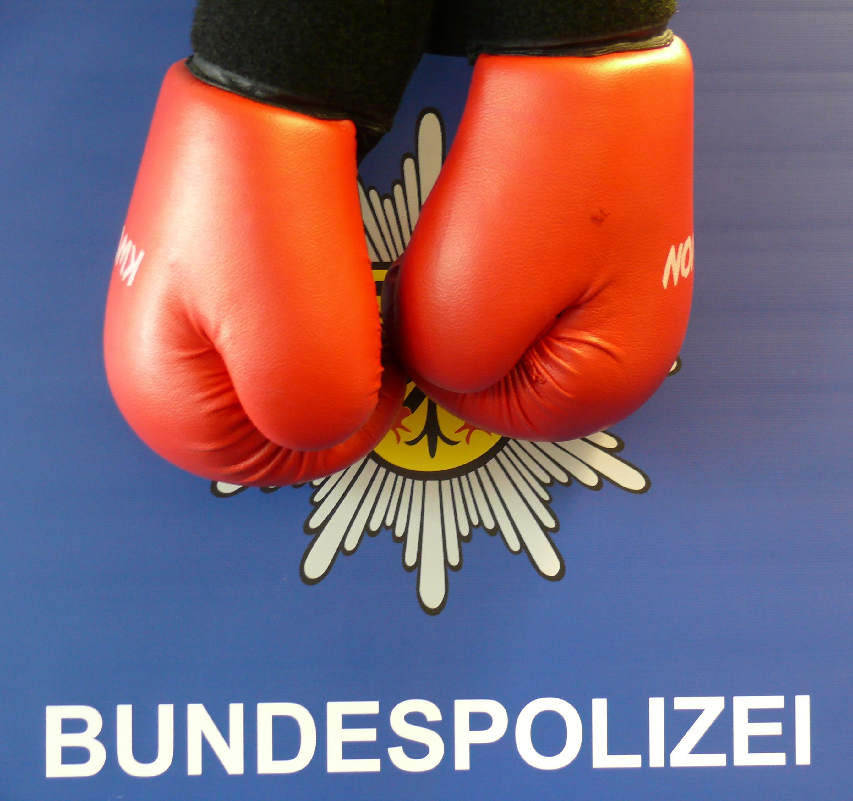 Warum der Mann Boxhandschuhe mitführte, konnte nicht geklärt werden. (Foto: OTS)