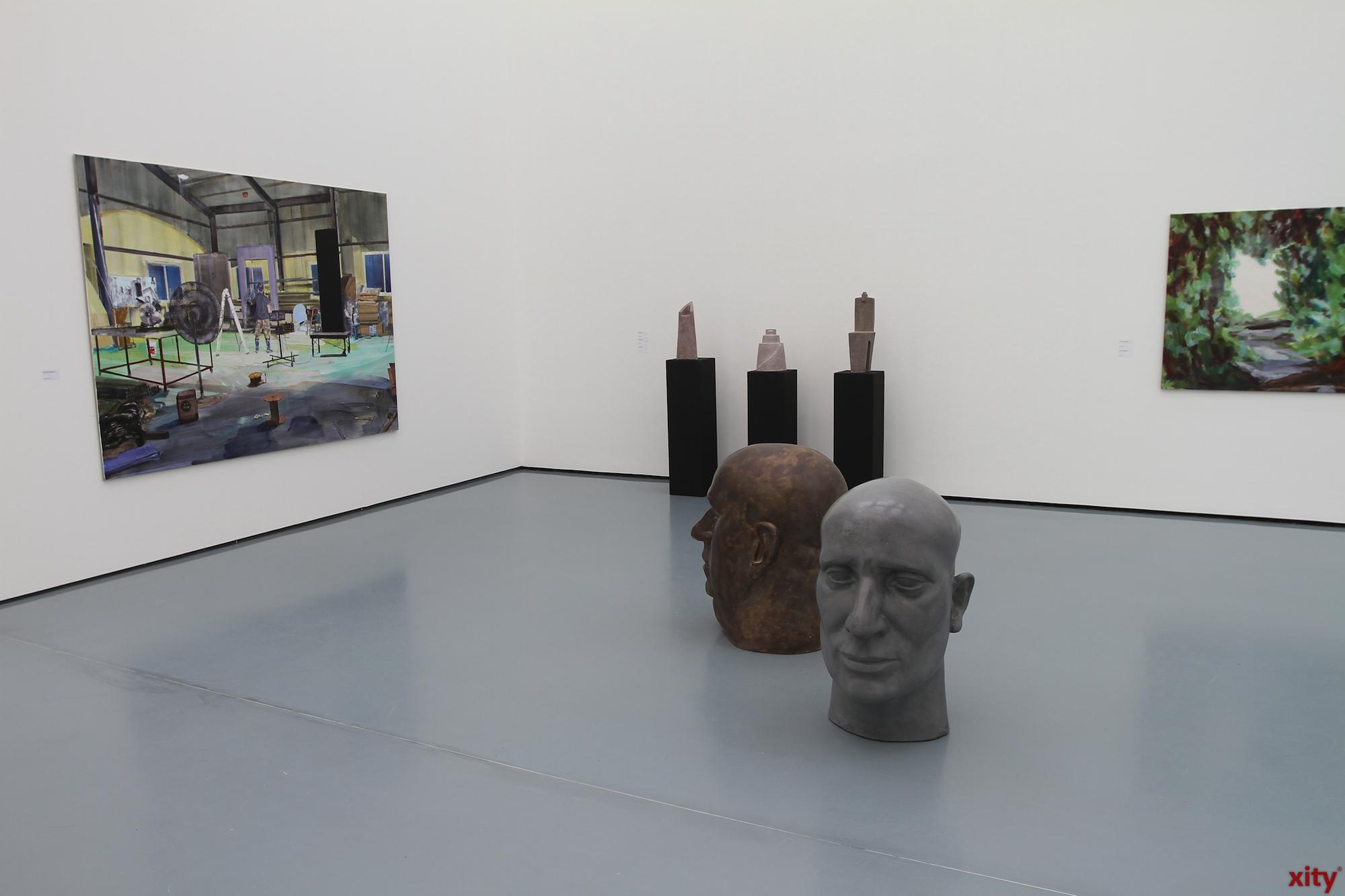 Verschiedenste künstlerische Positionen werden im Museum Kunstpalast gezeigt (Foto: xity)