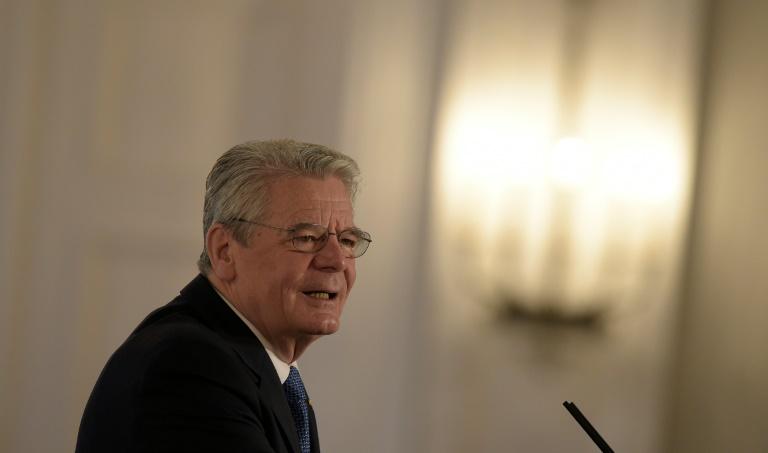 Gauck kritisiert selbsternannte Verteidiger des christlichen Abendlandes (© 2016 AFP)
