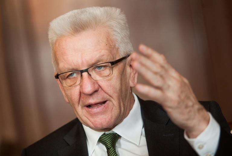 Grüne vergrößern in Umfrage Abstand zur CDU im Südwesten (© 2016 AFP)