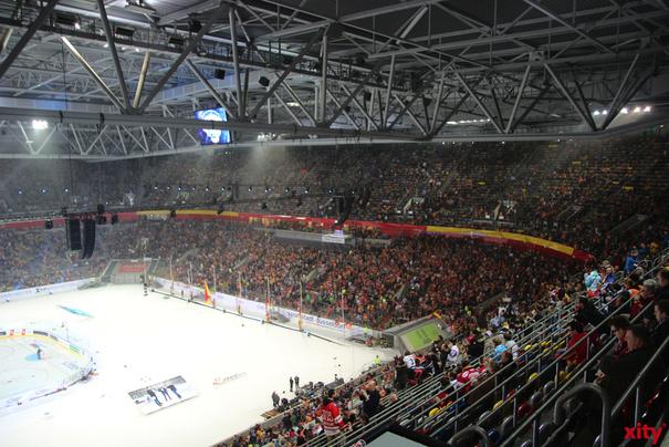 Im Viertelfinale der Deutschen Eishockey Liga trifft die DEG nun auf die Grizzlys Wolfsburg (Foto: xity)