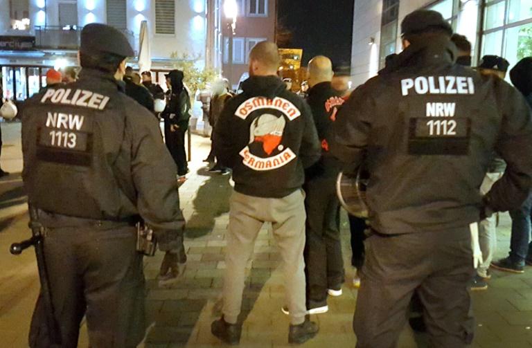Rockergruppe Osmanen Germania inzwischen auch in der Schweiz und Österreich aktiv (© 2016 AFP)