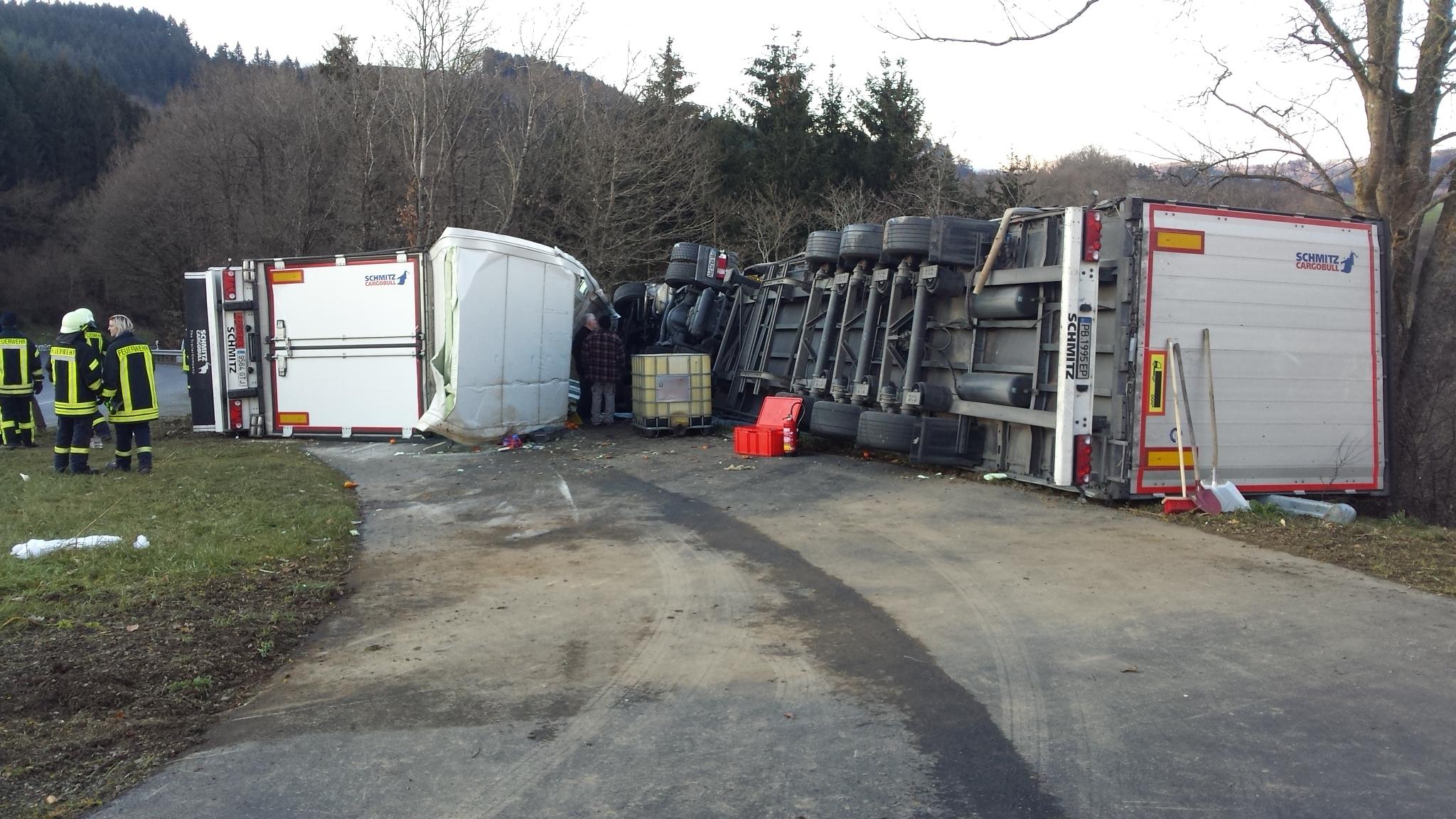 Verkehrsunfall mit 2 Verletzten (Foto: OTS)