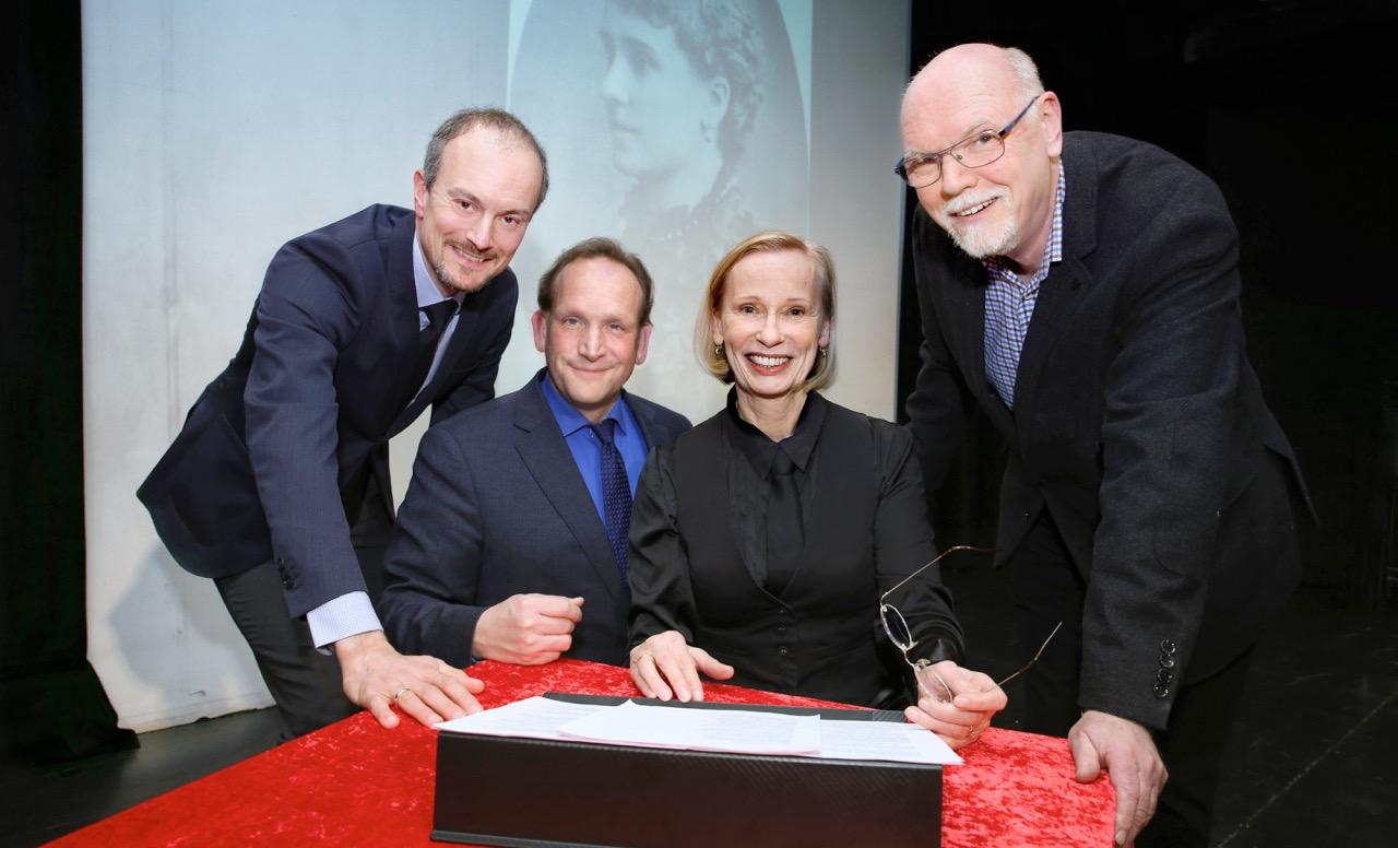 Andreas Oehme, Dr. Dirk Reder, Christiane Lemm, Dr. Winrich Meiszies (Foto: Die Familienunternehmer)