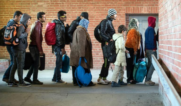 Zahl der neuen Flüchtlinge im Februar deutlich zurückgegangen (© 2016 AFP)