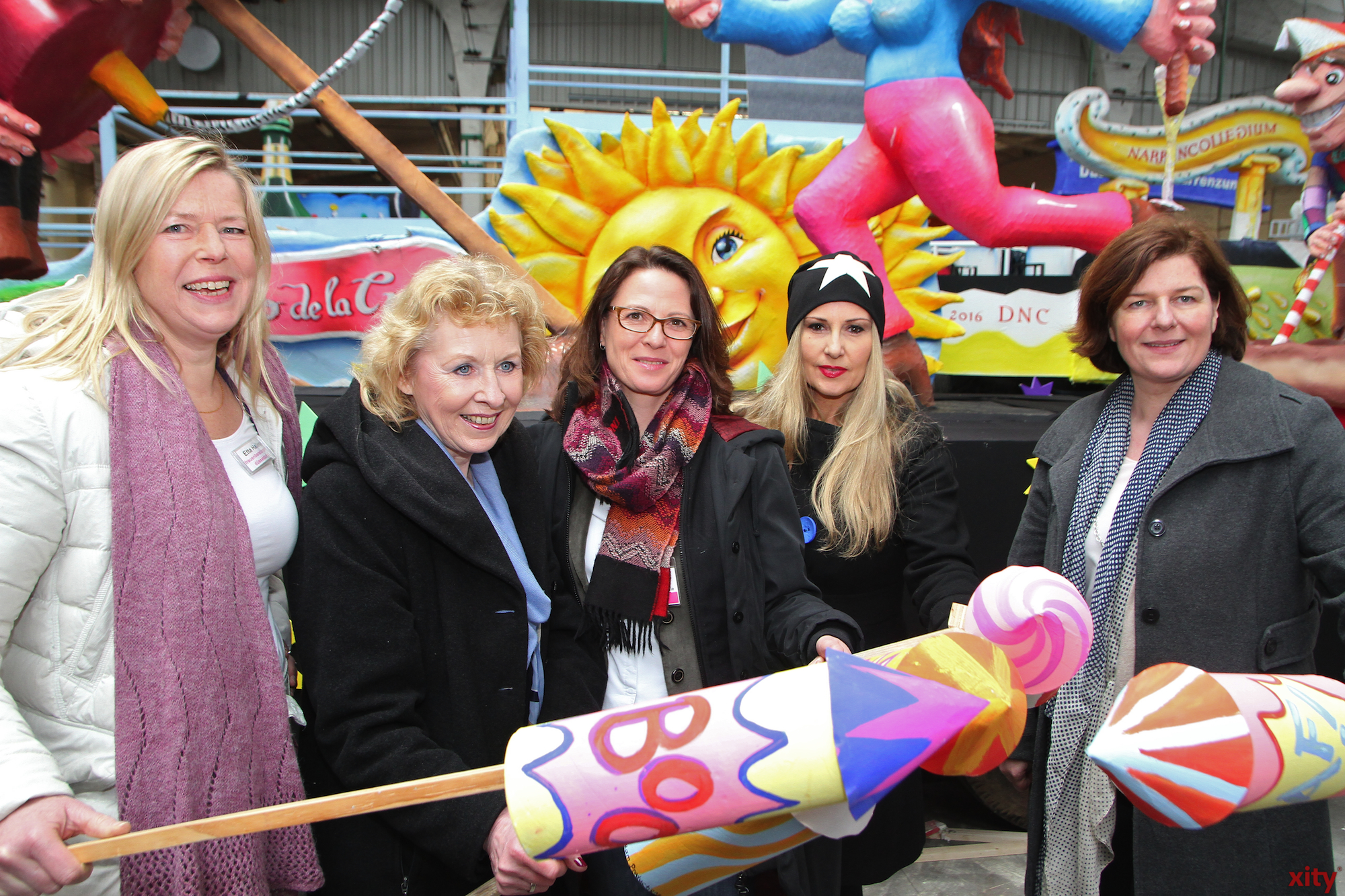 Etta Hallenga, Ellen Schlepphorst, Eva Inderfurth, Elisabeth Wilfart und Silke Laqua (Foto: xity)