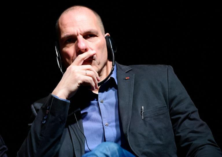 """Grimmepreis für Satire über Varoufakis-""""Stinkefinger"""" (© 2016 AFP)"""