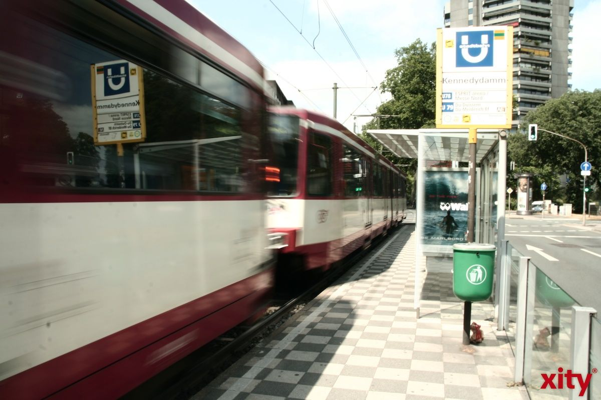 Erweiterter Fahrplan der Rheinbahn zum Rosensonntagszug (Foto: xity)