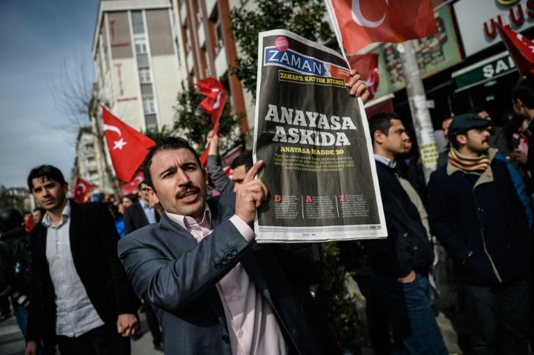 Kritik an Ausblenden von Missständen in Türkei wegen Flüchtlingsabkommen (© 2016 AFP)