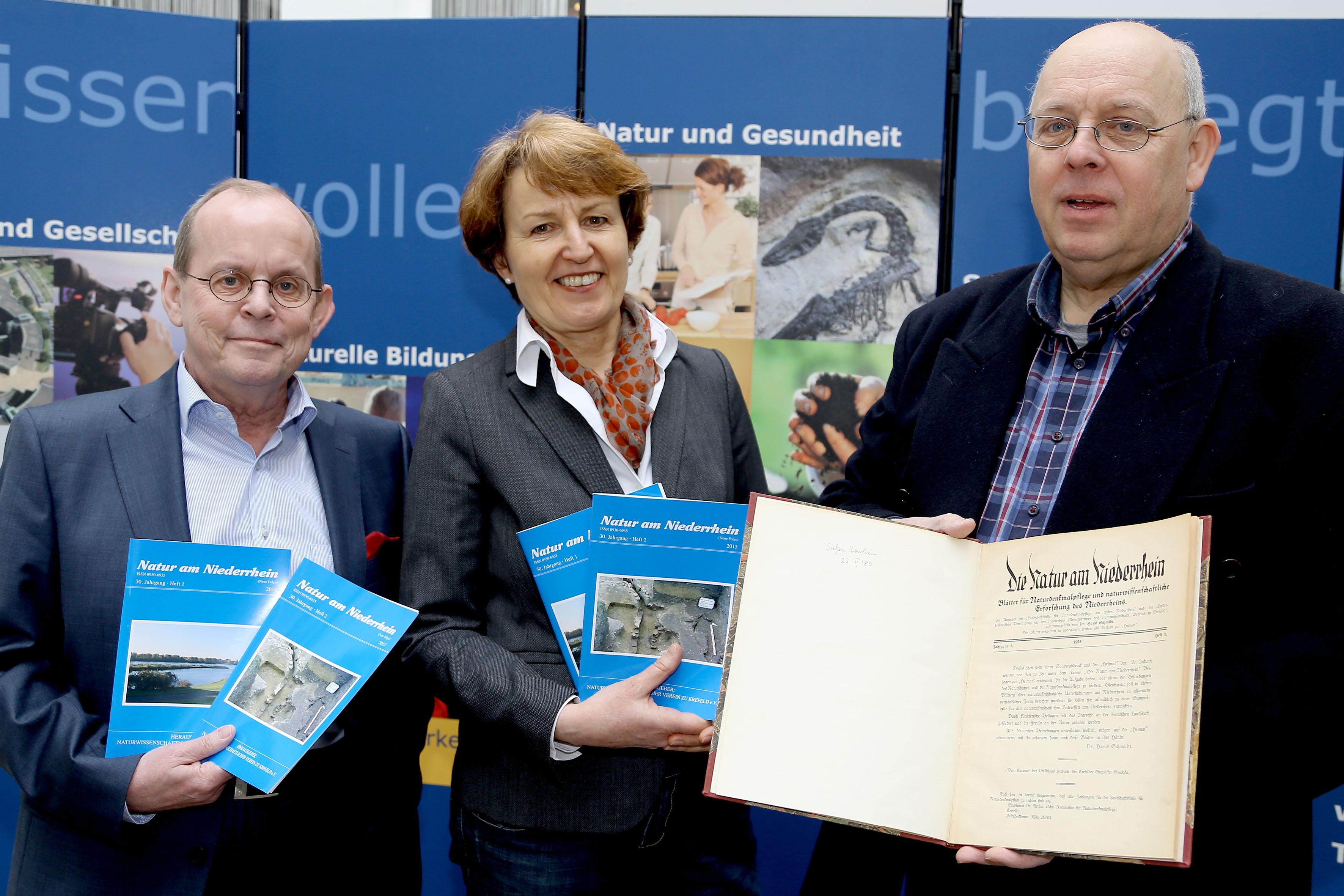 VHS Krefeld kooperiert mit Naturwissenschaftlichem Verein (Foto: Stadt Krefeld, L. Strücken)