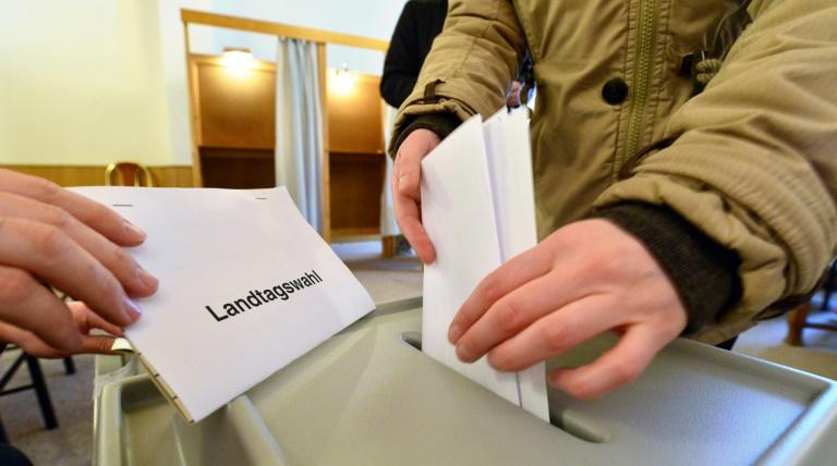 Höhere Wahlbeteiligung in Rheinland-Pfalz und Sachsen-Anhalt als 2011 (© 2016 AFP)