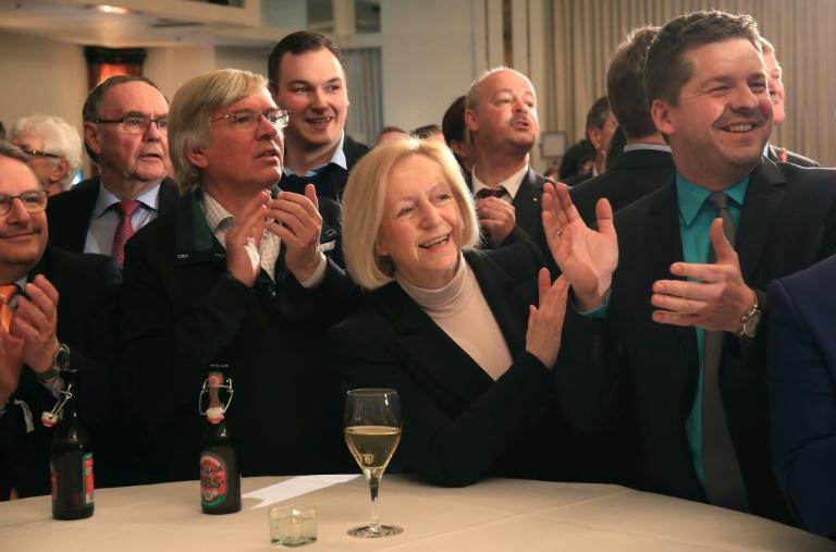 Hochrechnungen: CDU klarer Sieger in Sachsen-Anhalt - AfD zweitstärkste Kraft (© 2016 AFP)