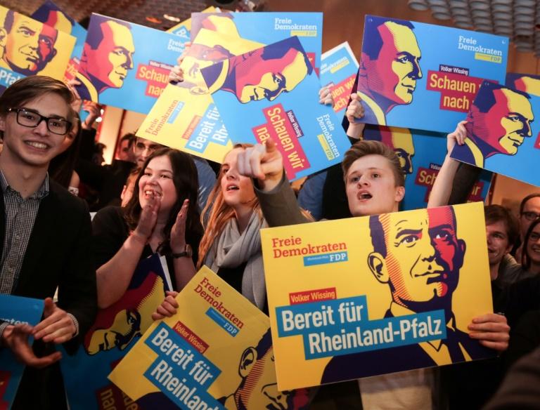 Lindner: FDP strebt nicht unbedingt in Landesregierungen (© 2016 AFP)
