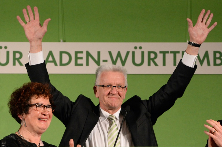 Kretschmann und Dreyer bei Wahlen erfolgreich - Kein einheitlicher Trend (© 2016 AFP)