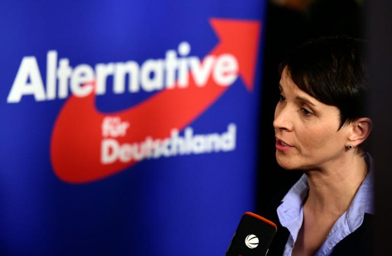 """Petry sieht AfD nach Landtagswahlen als """"gesamtdeutsche Partei"""" (© 2016 AFP)"""