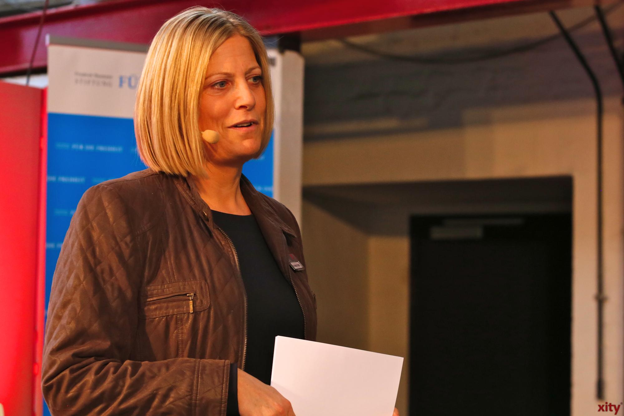 Alexandra Rath ist Verbandsleiterin Düsseldorf und Mettann des BVMW(Foto: xity)