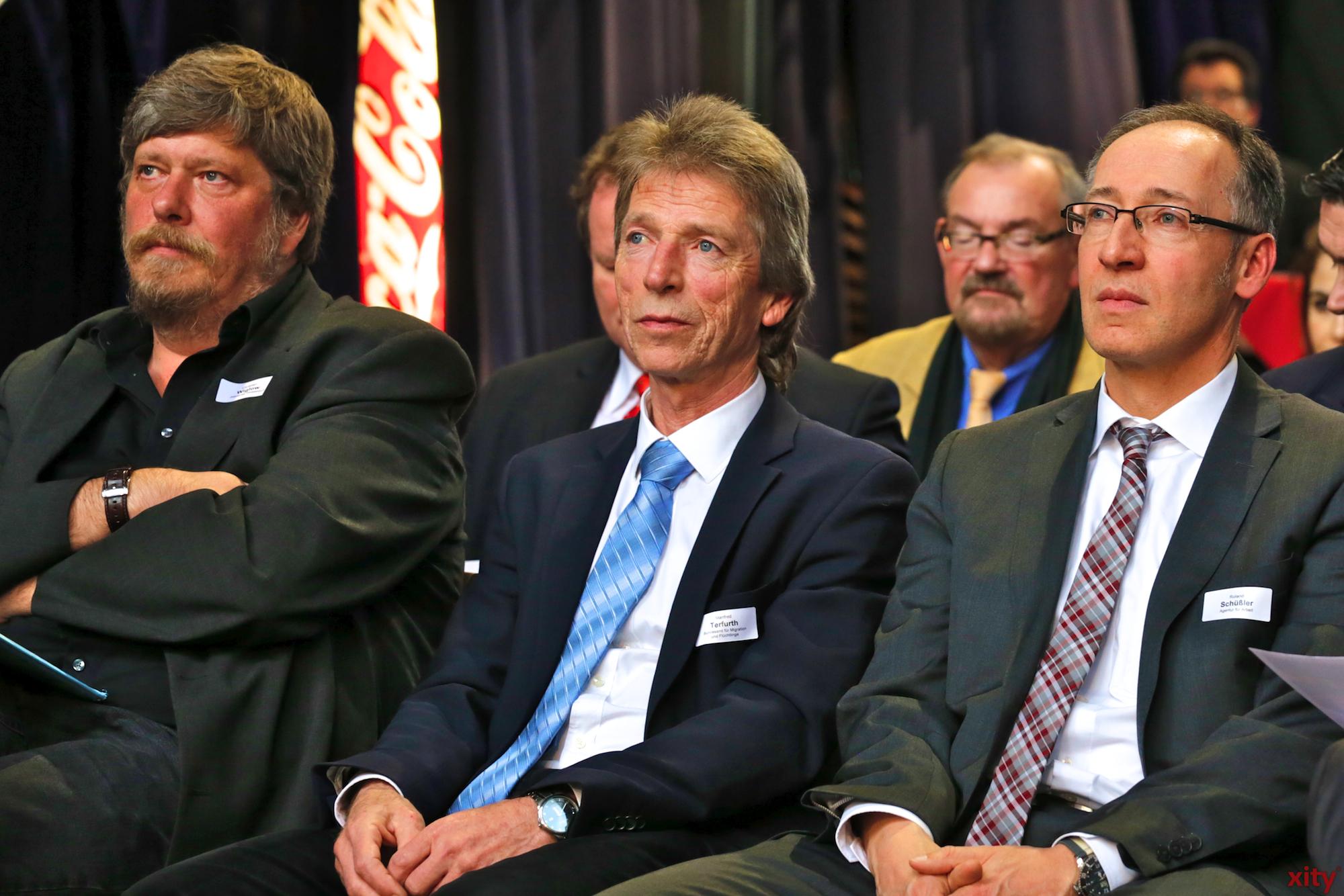Gemeinsam mit Experten aus Politik, Verwaltung, Wirtschaft und Zivilgesellschaft wurde an diesem abend diskutiert. (Foto: xity)