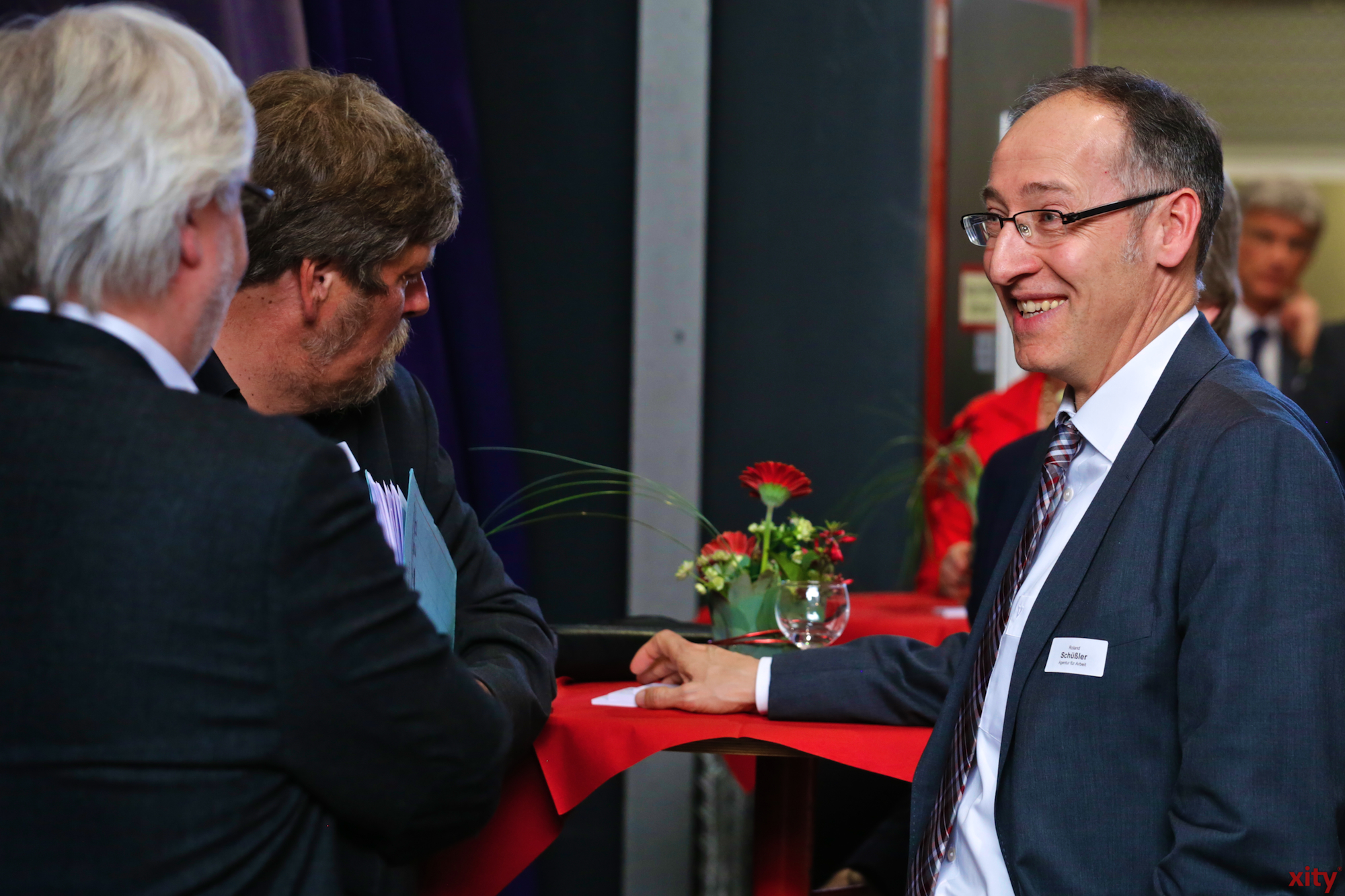 Geschäftsführer der Agentur für Arbeit Düsseldorf Roland Schüßler (r.) (Foto: xity)