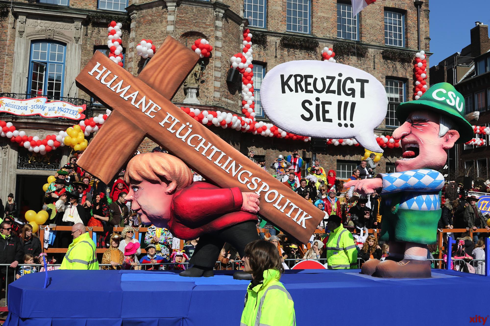 Die CSU kritisiert die Flüchtlingspolitik der Bundeskanzlerin (Foto: xity)