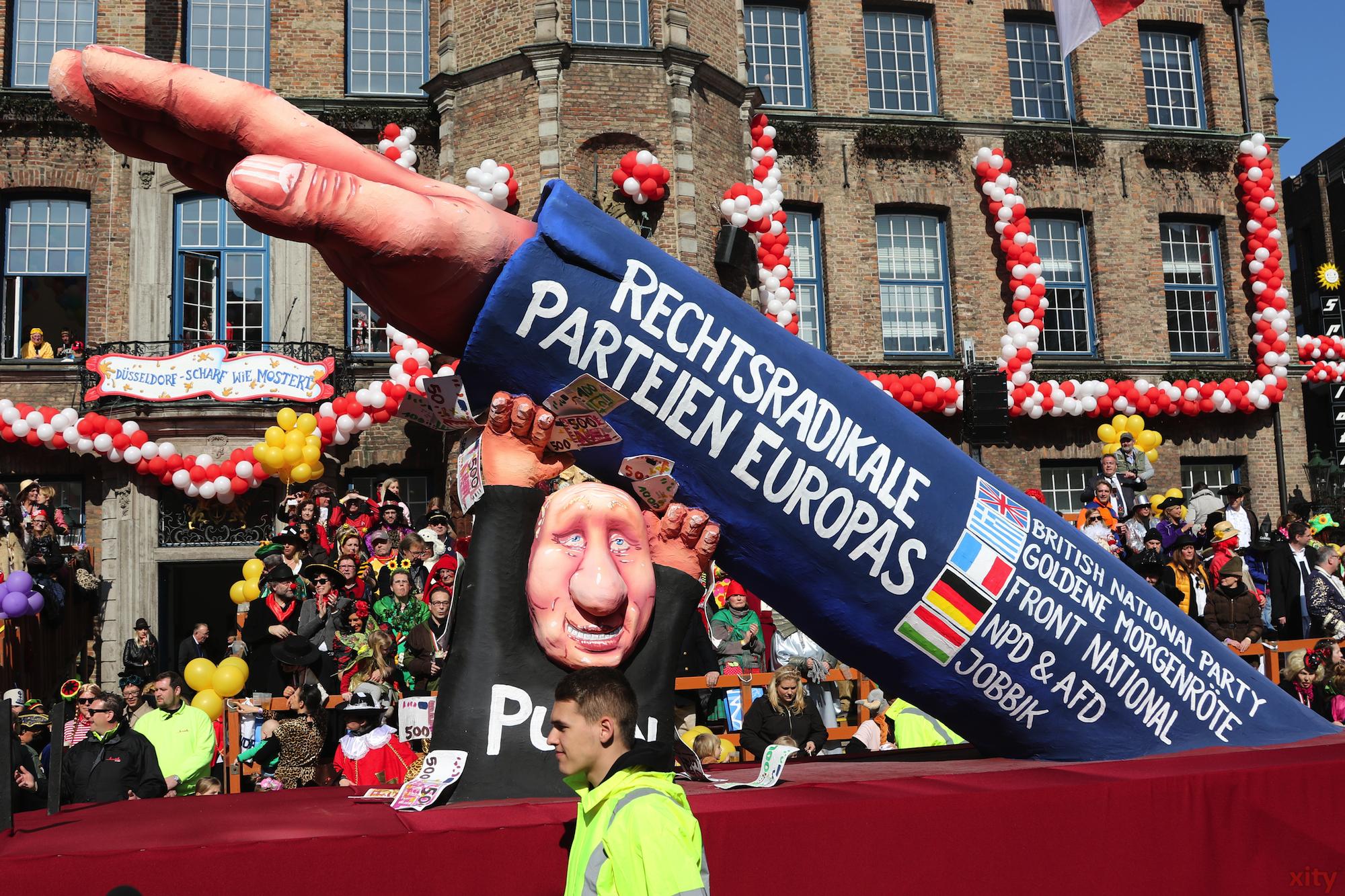 Putin (unter)stützt rechte Parteien in Europa (Foto: xity)