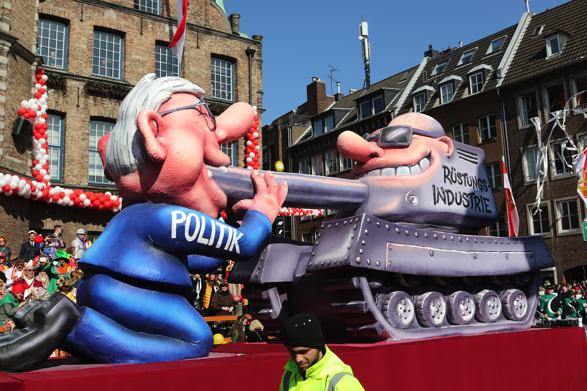 Die Politik geht vor der Rüstungsindustrie auf die K (Foto: xity)