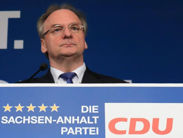 Haseloff strebt in Sachsen-Anhalt schwarz-rot-grünes Bündnis an (© 2016 AFP)