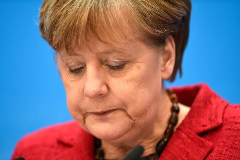Merkel: Wahlsonntag war schwerer Tag für die CDU (© 2016 AFP)
