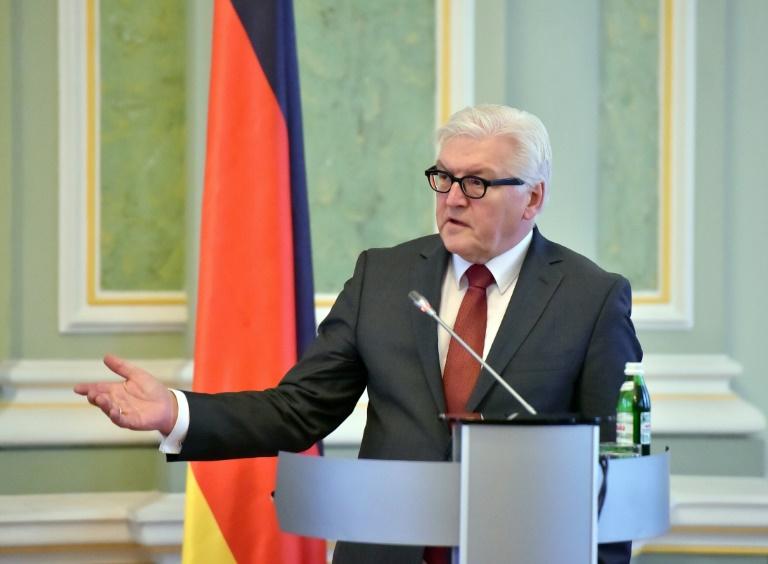 Steinmeier sorgt sich wegen AfD-Erfolgen um Deutschlands Image (© 2016 AFP)