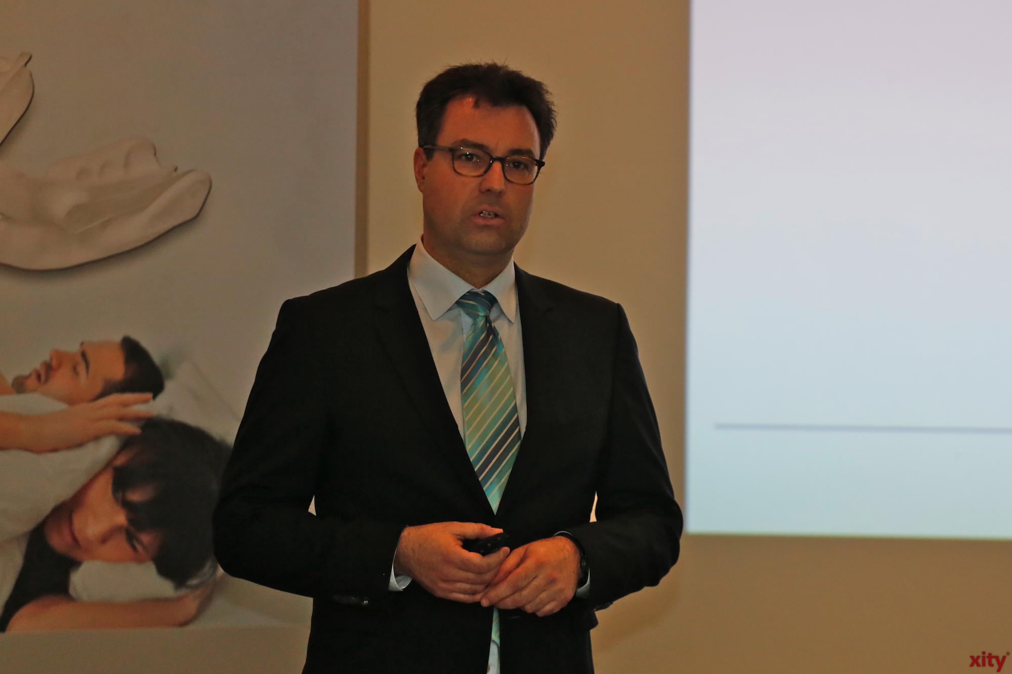 Dr. Hartmut Grüger referierte über Schlafapnoe (Foto: xity)