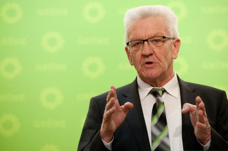 Ringen um grün-schwarzes Bündnis in Baden-Württemberg beginnt (© 2016 AFP)