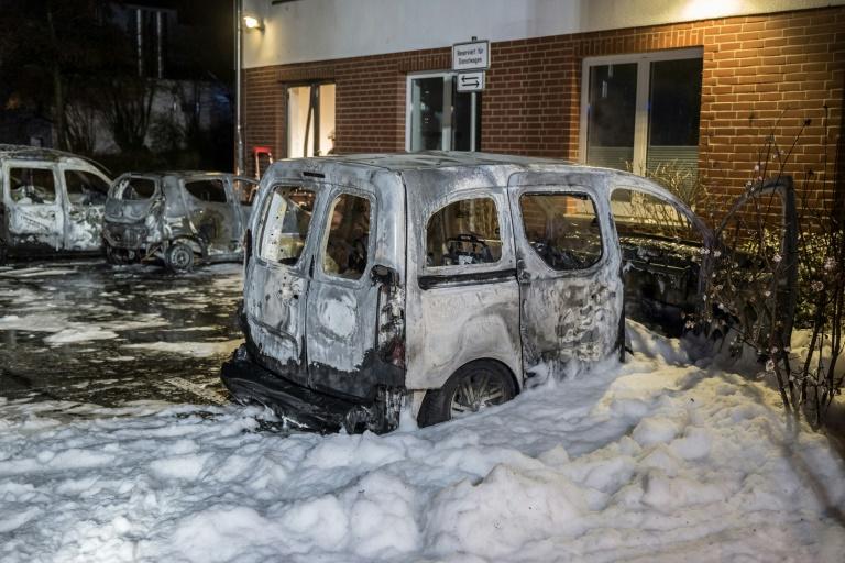 Einsatz von Sprengstoff bei rechten Straftaten erheblich gestiegen (© 2016 AFP)