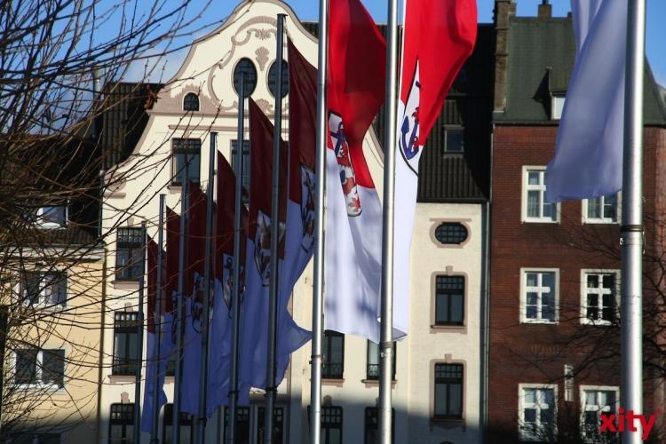 """""""Politischer Markttag"""" im Stadtbezirk 7 (Foto: xity)"""