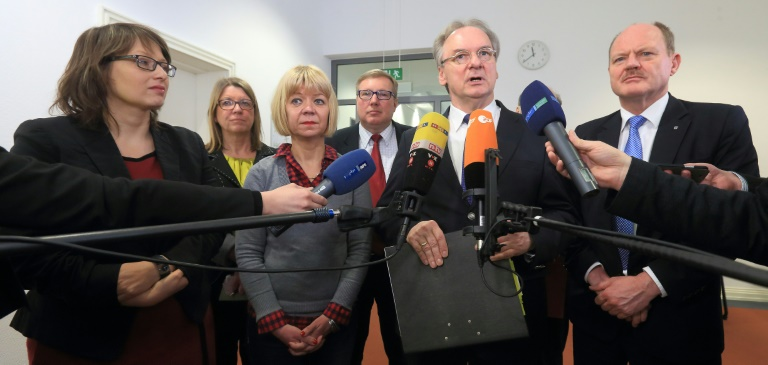 Schwarz-Rot-Grün in Sachsen-Anhalt will Sondierungen fortsetzen (© 2016 AFP)