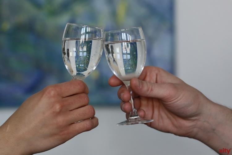 Katharina und Hermann Radloff aus Flingern Nord feiern am Donnerstag ihren 65. Hochzeitstag (Foto: xity)