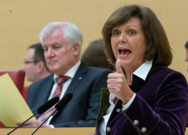 Aigner erneuert Anspruch auf Seehofer-Nachfolge im Ministerpräsidentenamt (© 2016 AFP)
