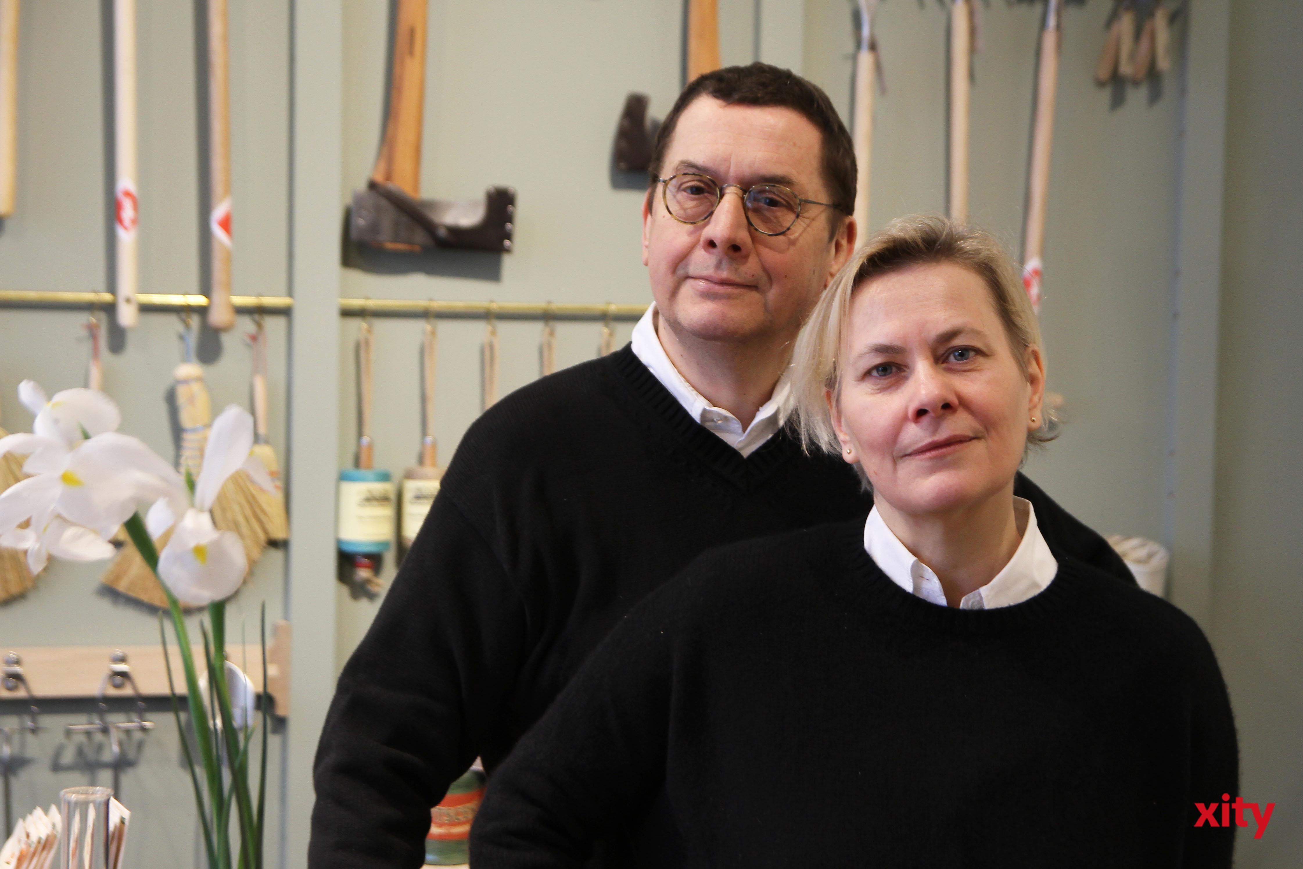 Werner Lippert und Petra Wenzel leiteten 15 Jahre lang das NRWForum in Düsseldorf (Foto: xity)
